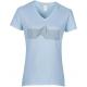 "female cut sky blue shirt ""jabali wave"""